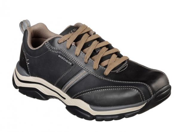 Skechers Relaxed Fit: Rovato - Larion Herren Sneaker 65419 (Schwarz-BLK)