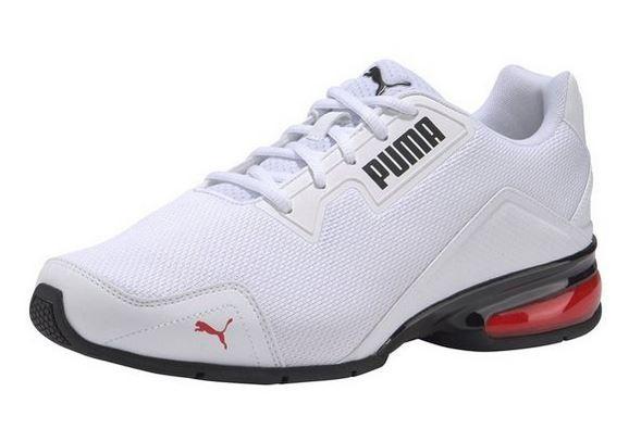Puma Leader VT Tech Mesh Herren Sneaker 194532 (Weiß 01)