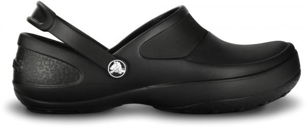 Crocs Women's Mercy Work Clog (Black)