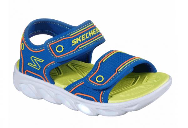 Skechers Hypno-Flash 3.0 Kinder Sandale 90522L (Blau-BLLM)