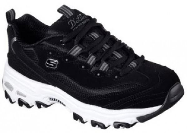 Skechers D'Lites - Biggest Fan Damen Sneaker 11930(Schwarz BLK)