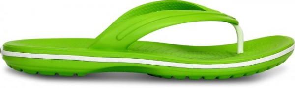 Crocs Crocband Flip Zehentrenner (Volt Green White)