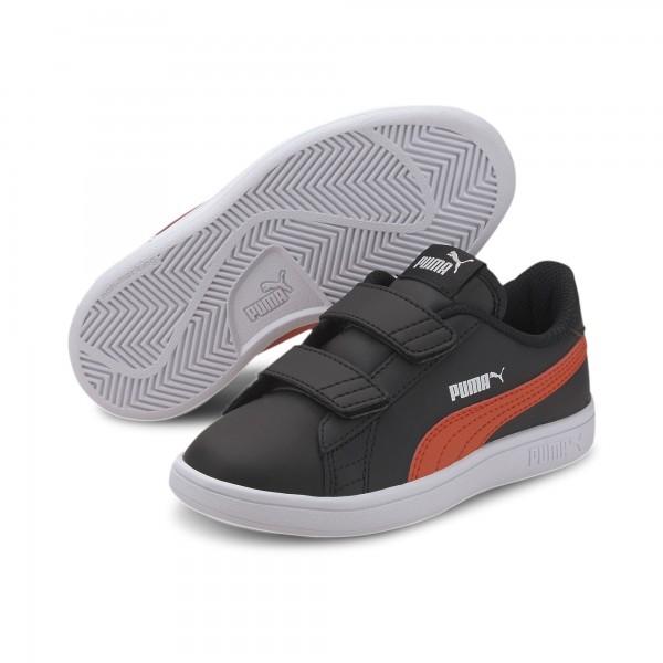 Puma Smash v2 L V PS Kinder Sneaker 365173 (Schwarz 22)