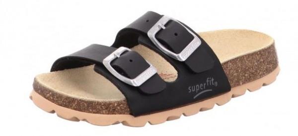 Superfit Fussbettpantoffel 0-800111-00 (schwarz-00)