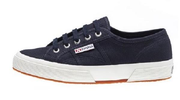 Superga 2750 Cotu Classic Damen Sneaker (Blau)