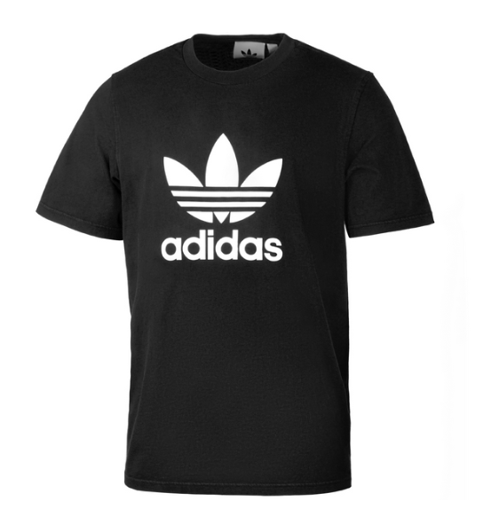 Adidas Trefoil Herren T-Shirt CW0709 (Schwarz)