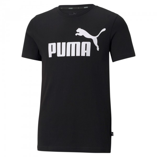 Puma ESS Logo Tee Kinder T-Shirt 586960 (Schwarz 01)