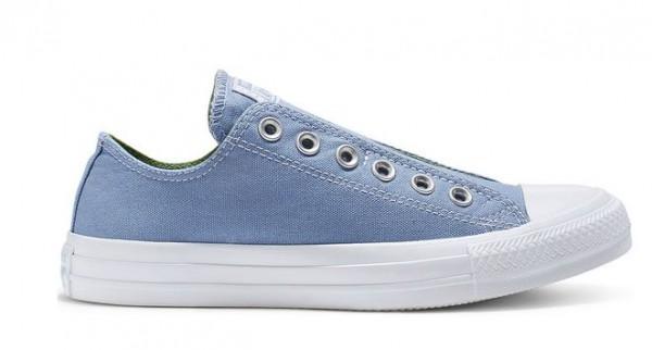 Converse Chuck Taylor All Star Slip on Low Sneaker (Blau)