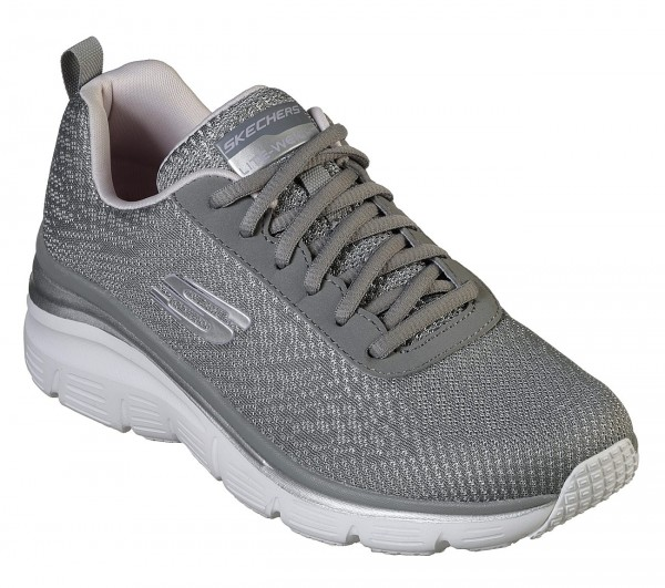 Skechers Fashion Fit - Bold Boundaries Damen Sneaker 12719 (Grau-GYLV)