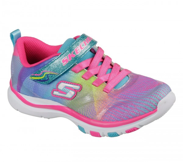 Skechers Trainer Lite - Dash N Dazzle Kinder Sneaker 81488L (Pink-MLT)