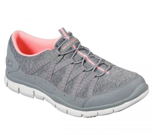 Skechers Gratis - Let's Cruise Damen Sneaker 104008 (Grau-GYCL)