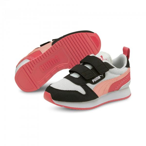 Puma R78 V PS Kinder Sneaker 373617 (Rosa 15)