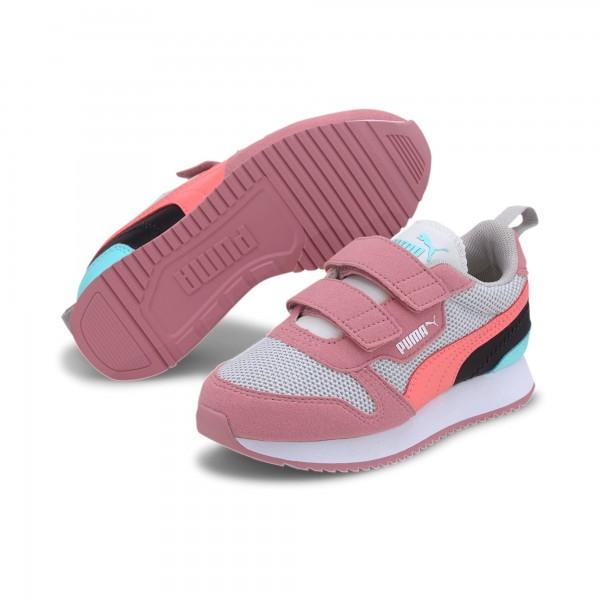 Puma R78 V PS Kinder Sneaker 373617 (Rosa 06)