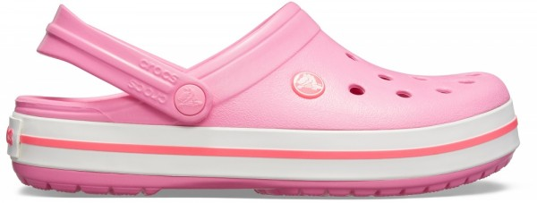 Crocs Crocband Clog (Pink Lemonade/White)