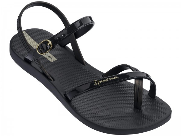Ipanema Fashion Sand VII Fem Damen Sandale (Schwarz 8023)