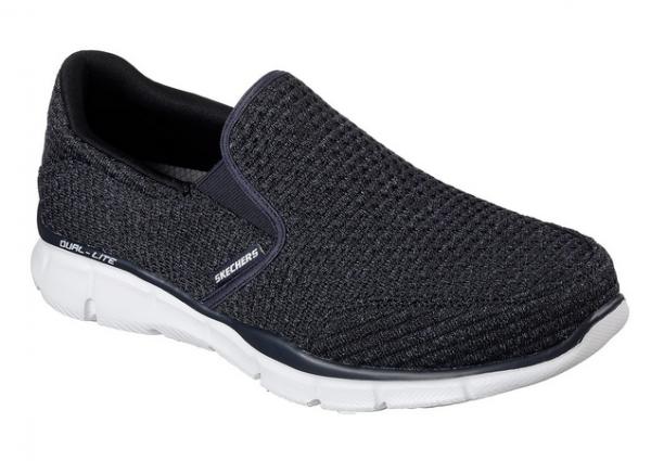 Skechers Equalizer Slickster Herren Sneaker 52745 (Blau-NVY)