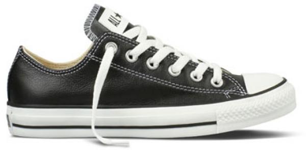 Converse Chucks Taylor All Star Low Leder Sneaker 132174C (black)