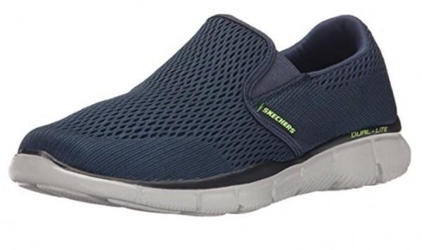 Skechers Equalizer Double Play Herren Sneaker 51509 (Blau-NVY)