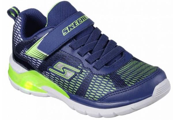 Skechers Erupters II Kinder Sneaker 90553L (blau/grün- NVLM)