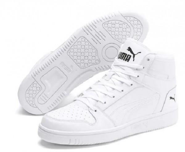 Puma Rebound LayUp SL Herren Sneaker 369573 (Weiß 03)