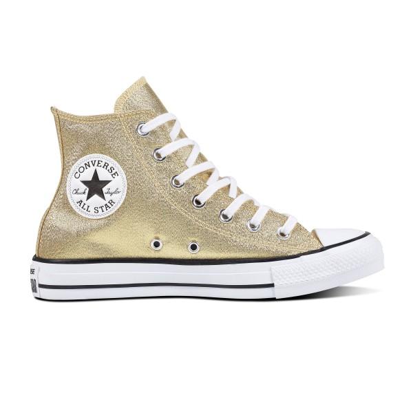 Converse CT AS HI Chuck Taylor All Star weiß gold