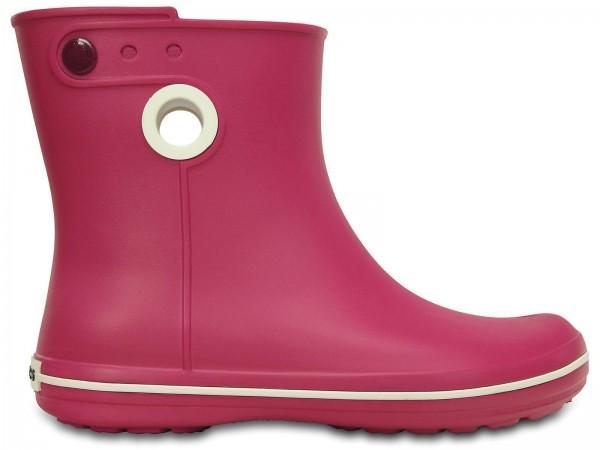 Crocs Women Jaunt Shorty Boot Damen Gummistiefel (Berry)