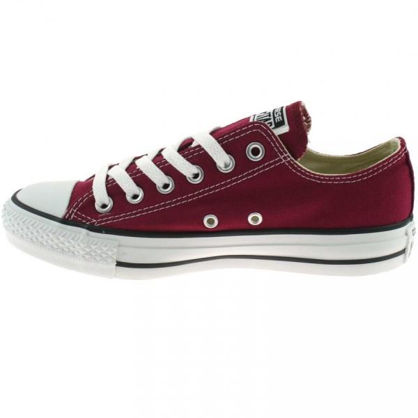 Converse Chucks Taylor All Star Ox Low Sneaker M9691 (Maroon )