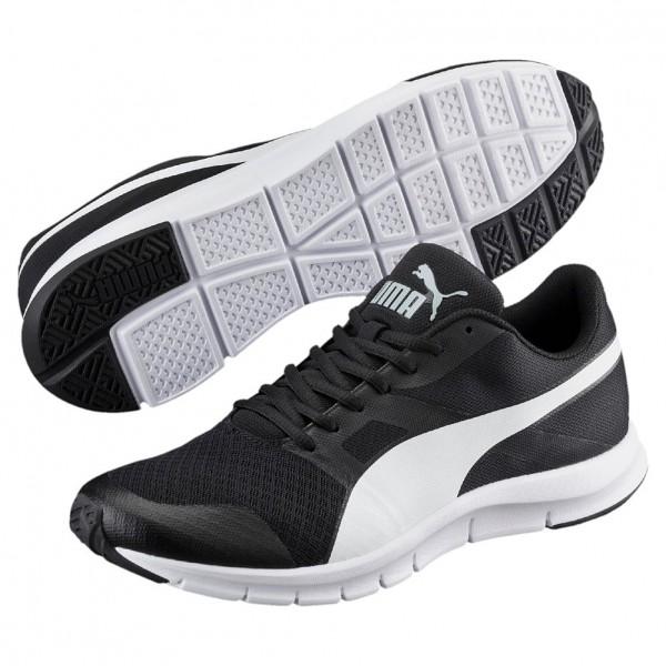 Puma Flexracer Herren Sneaker 360580 (black-white 01)