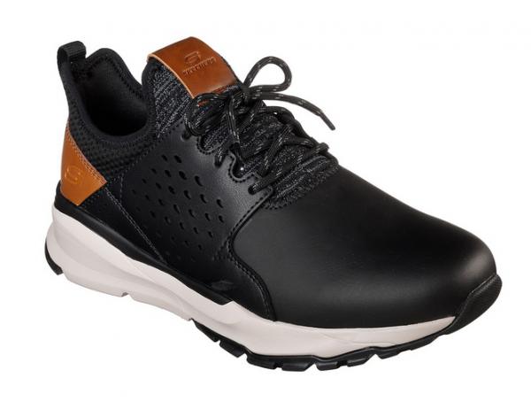 Skechers Relven - Hemson Herren Sneaker (Schwarz-BLK)