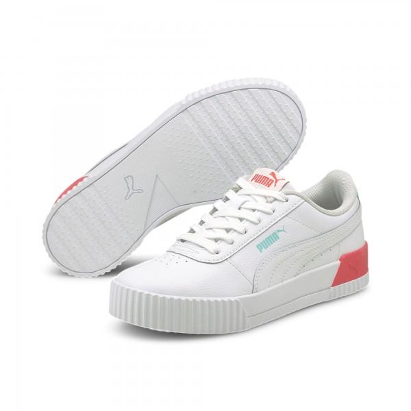 Puma Carina L Jr Kinder Sneaker 370677 (Weiß 23)