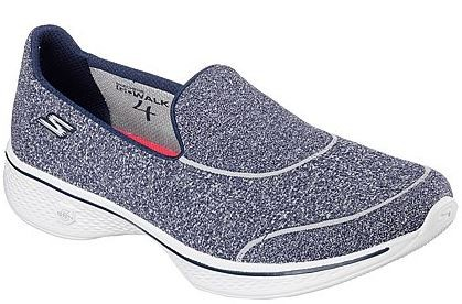 Skechers Gowalk4 - Super Sock 4 Damen Sneaker 14161(Blau-NVY)