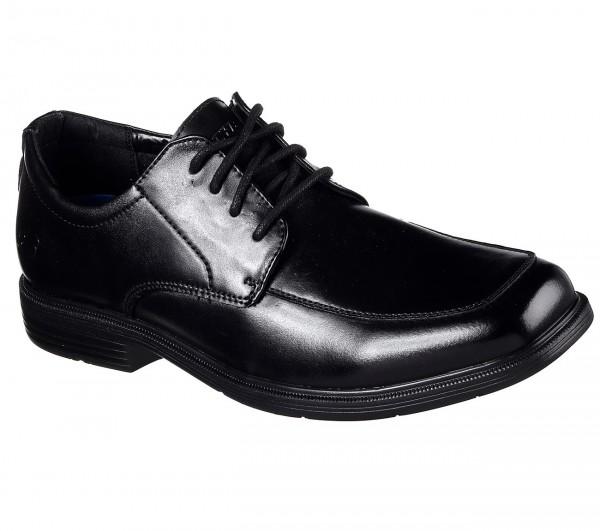 Skechers Relaxed Fit: Caswell Herren Schuhe 64615 (Schwarz-BLK)