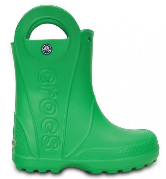 Crocs Kids Handle it Rain Boot (Grass Green)
