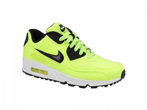 Nike Air Max 90 FB GS Kinder Sneaker (Gelb 700)