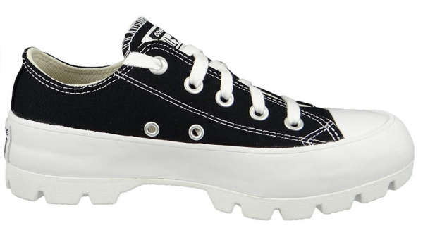 Converse Chuck Taylor All Star Lugged Ox Damen Sneaker 567681C (Schwarz)