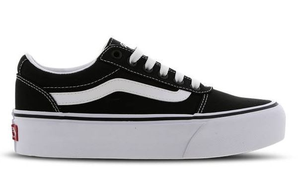 Vans Ward Platform Damen Sneaker VN0A3TLC187 (Schwarz)