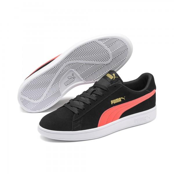 Puma Smash v2 Herren Sneaker 364989 (Schwarz 39)