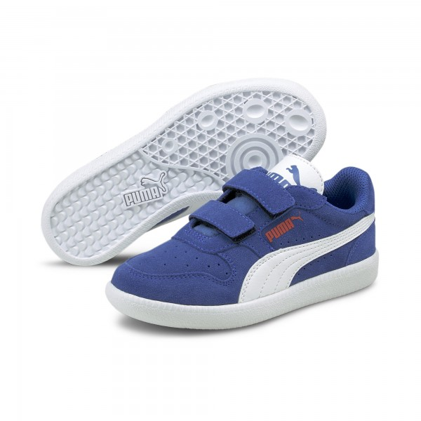Puma Icra Trainer SD V PS Kinder Sneaker 360756 (Blau 37)