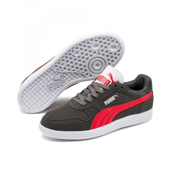 Puma Icra Trainer SD Jr Kinder Sneaker 358885 (Grau 32)