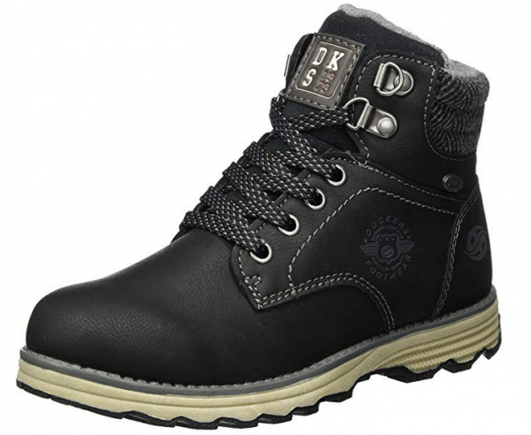 finest selection 88382 de7a6 Dockers Kinder Stiefel 41TE702-650100 (Schwarz)