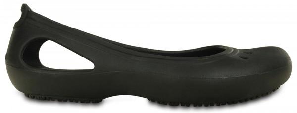 Crocs Kadee Work Flat (Black)