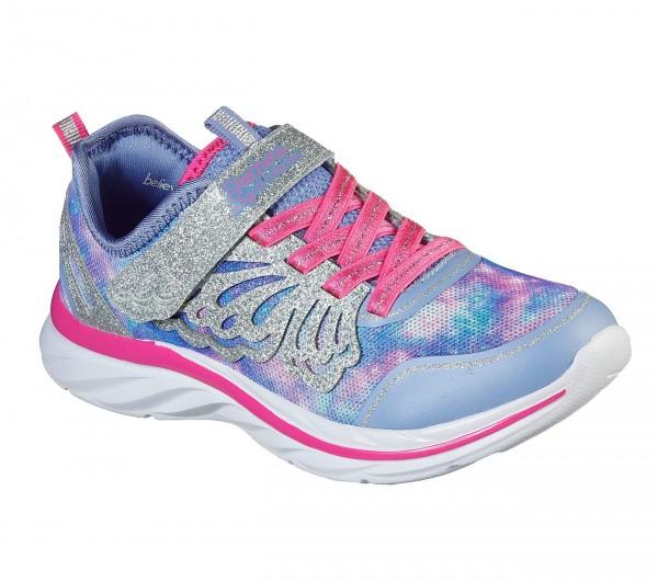 Skechers Quick Kicks - Fairy Glitz Kinder Sneaker 302076L (Lila-PWPK)