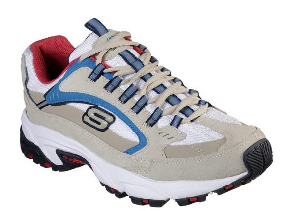 Skechers Stamina - Cutback Herren Sneaker 51286 (Beige-OFWT)
