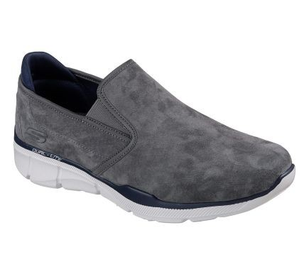 Skechers Relaxed Fit: Equalizer 3.0 - Substic Herren Sneaker 52938 (Grau-CHAR)