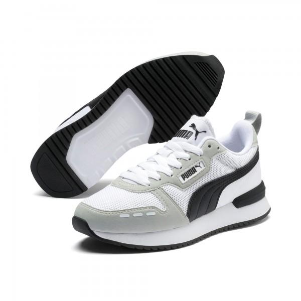Puma R78 Jr Kinder Sneaker 373616 (Weiß 02)