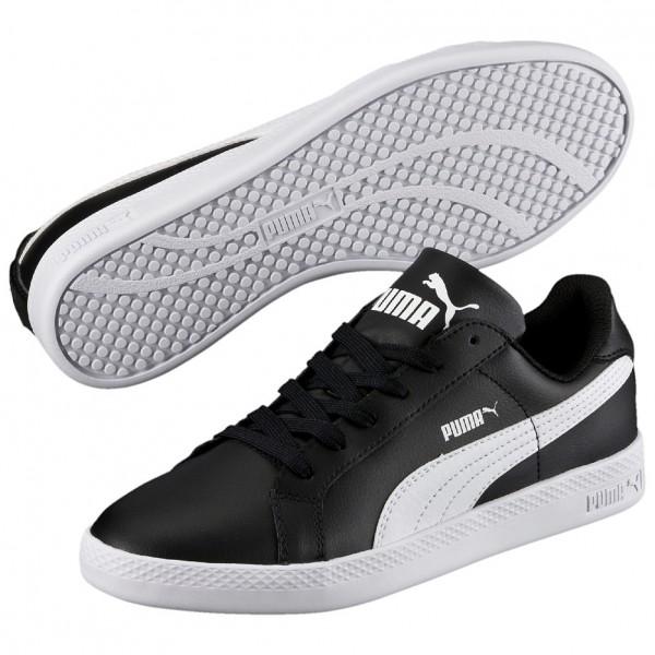 Puma Smash L Damen Sneaker 360780 (Schwarz 01)