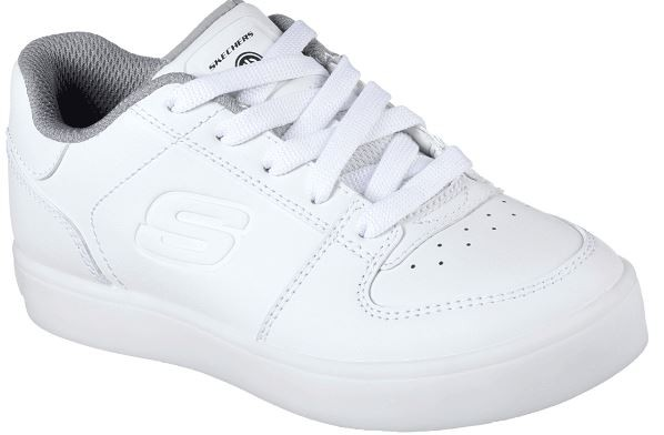 Skechers S Lights: Energy Lights - Elate Kinder Sneaker 90601L (Weiß-WHT)