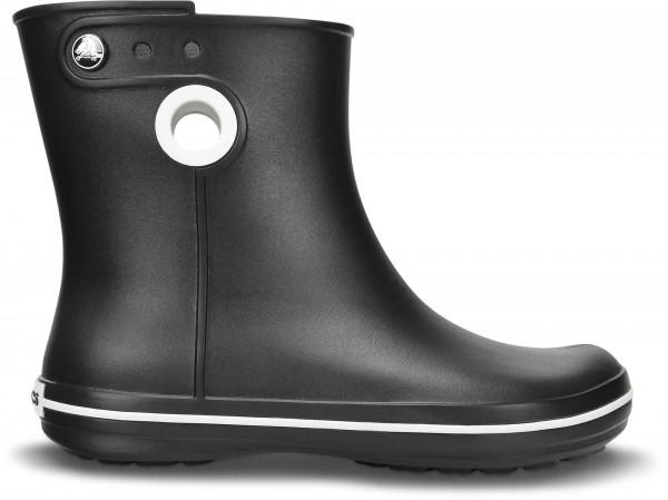 Crocs Women Jaunt Shorty Boot Damen Gummistiefel (Black)