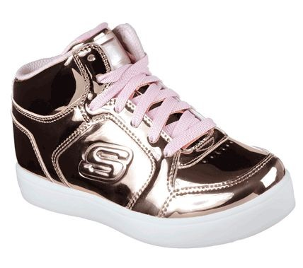 Skechers S Lights: Energy Lights Kinder Sneaker 10771L (Rose Gold-RSGD)