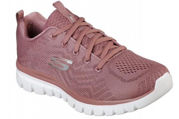 Skechers Graceful – Get Connected Damen Sneaker (Braun-MVE)